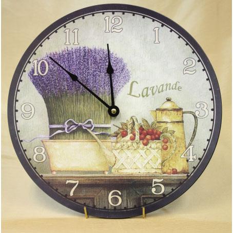 Настенные часы «Лаванда»