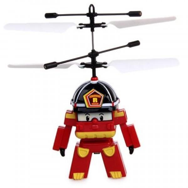 Радиоуправляемая игрушка-вертолет RoboCar Poli