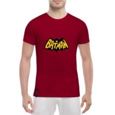 Мужская футболка Бетмен-комикс красного цвета