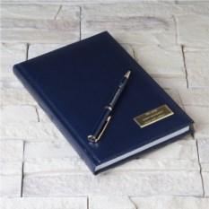 Набор ручка Pierre Cardin и ежедневник с гравировкой