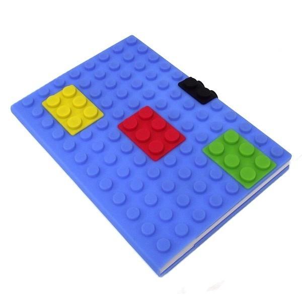 Большой синий блокнот Лего