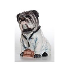 Керамическая копилка «Собака-доктор»