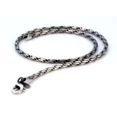 Цепочка из металла с серебром