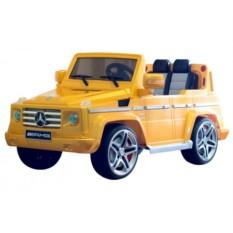 Детский электромобиль ЛИЦЕНЗИЯ MERСEDES G-55 Золото