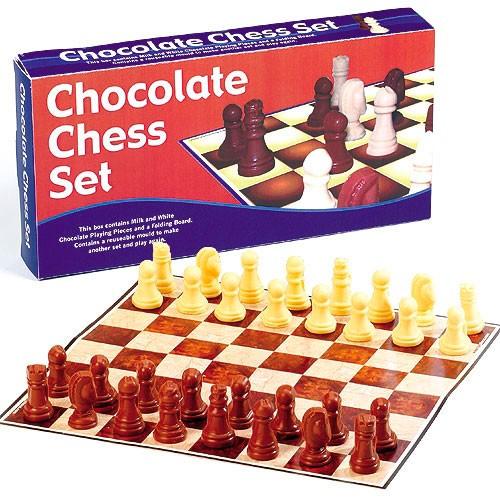 Шоколадные шахматы Сладкая победа