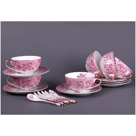 Чайный набор на 6 персон с ложками