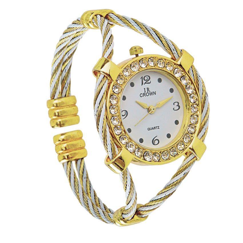 Часы с крученым браслетом