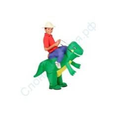 Детский надувной костюм Укротитель динозавра