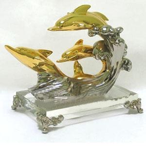 Статуэтка «Дельфины»