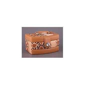 Шкатулка для украшений коричневая