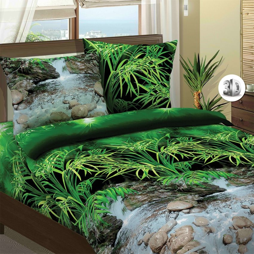 Комплект постельного белья Водопад 3D (2-спальный)