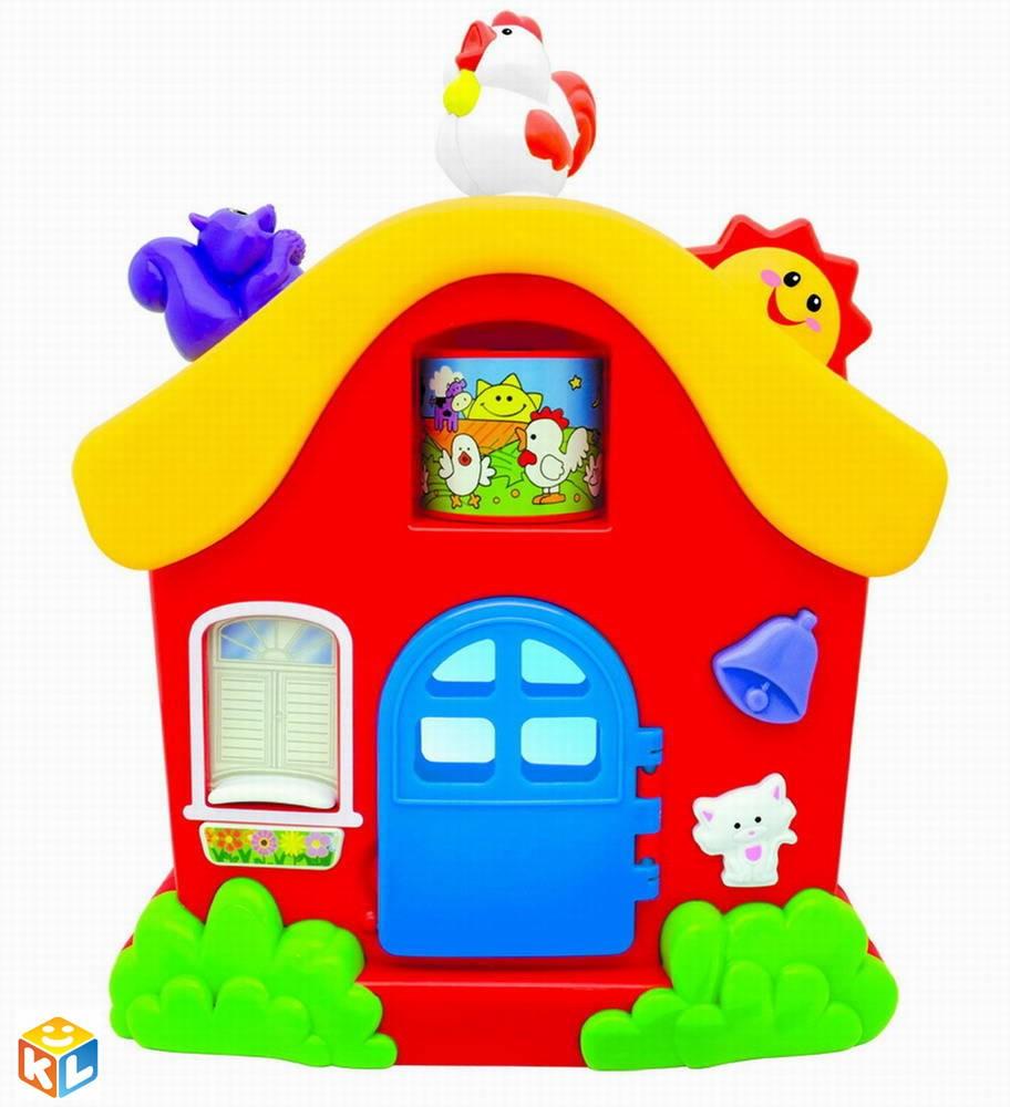 Развивающая игрушка Интерактивный домик