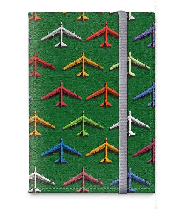 Обложка на паспорт Самолеты