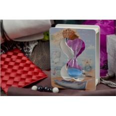 Песочные часы Морское послание (4 минуты)