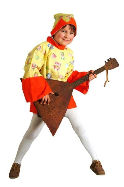 Карнавальный костюм Петрушка, 6-10 лет
