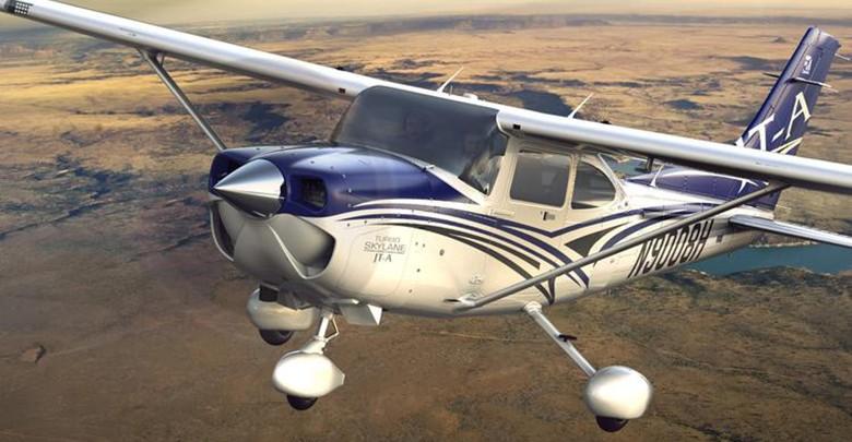 Сертификат Ознакомительный полет на Cessna-182 (40 мин.)