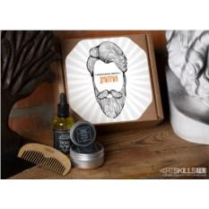 Подарочный набор по уходу за бородой «Волосяная ферма»
