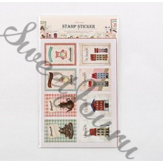 Набор наклеек Ancien Stamp Sticker Homely