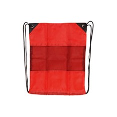 Рюкзак-мешок с сеткой, красный