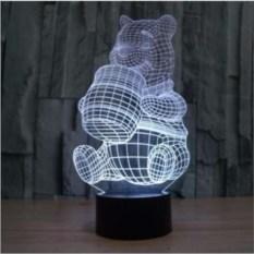 3D лампа Винни Пух