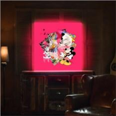 Дизайнерский светильник на заказ с вашим портретом