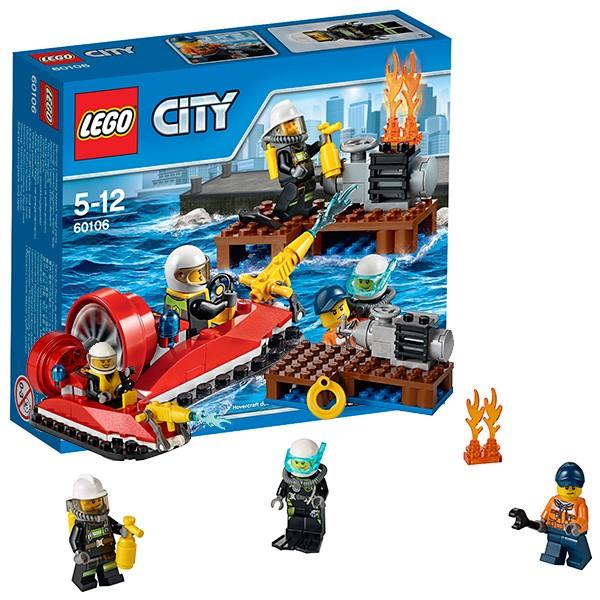 Конструктор Lego City Для начинающих. Пожарная охрана