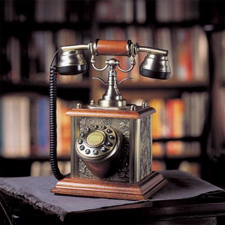 Ретро-телефон «Бронза»