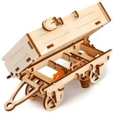 Механический 3D-конструктор Ugears «Прицеп к трактору»