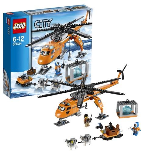 Конструктор Lego City Арктический вертолёт