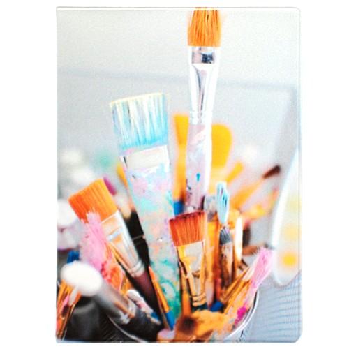 Обложка для паспорта Art brushes