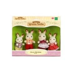 Игровой набор Sylvanian Families Семья Шоколадных Кроликов