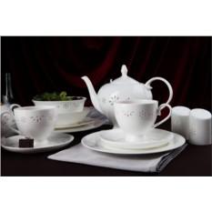 Фарфоровый чайный сервиз на 15 предметов Севилья
