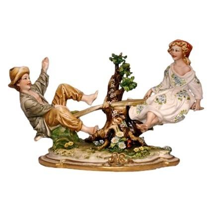 Композиция из фарфора Качели от Porcellane Principe