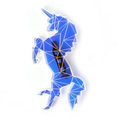 Брошь Hologram Collection Unicorn