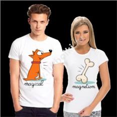 Парные футболки для двоих Magical, magnetism