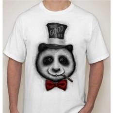 Мужская футболка Панда в шляпе