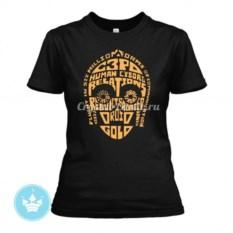 Женская футболка C3P0