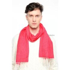Красный мужской шарф Gallieni