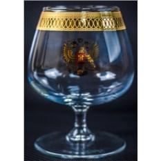 Подарочный бокал для бренди Герб