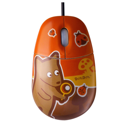 Компьютерная мышь с ковриком