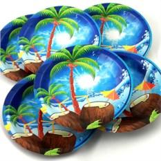 Набор из 6 тарелок Пальма