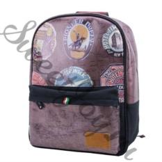 Большой кожаный рюкзак Travel Memories Truffle