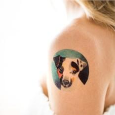 Татуировка переводная Sasha Unisex Jack Russel