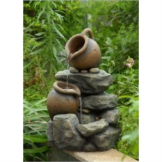 Декоративный фонтан для дачи Горный родник