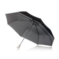 Белый складной зонт-автомат Brolly 21,5