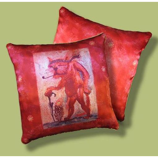 Подушка  дизайнерская «Ловелас»