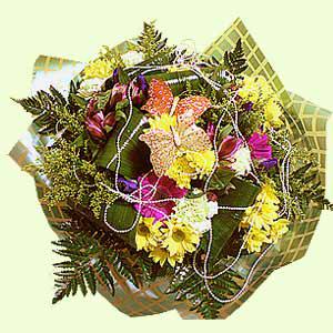 Букет цветов «Лазурный»