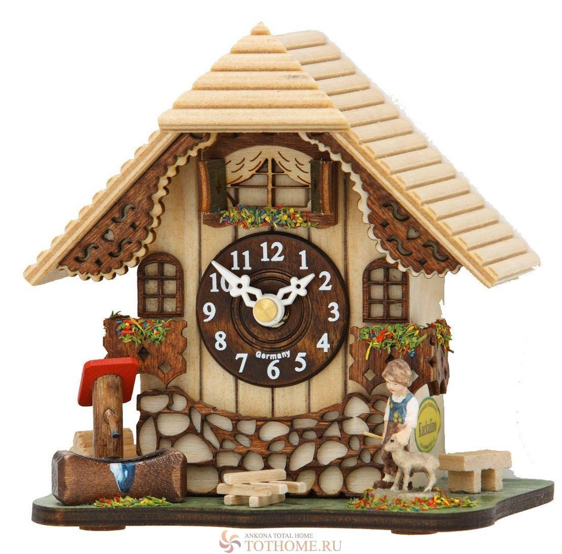 Кварцевые настенные часы с кукушкой Trenkle 085 Q