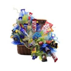 Букет из конфет Шоколадный день