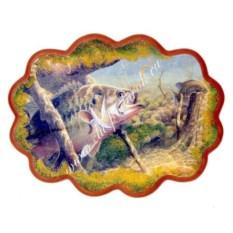 Панно из каменной крошки Рыбы